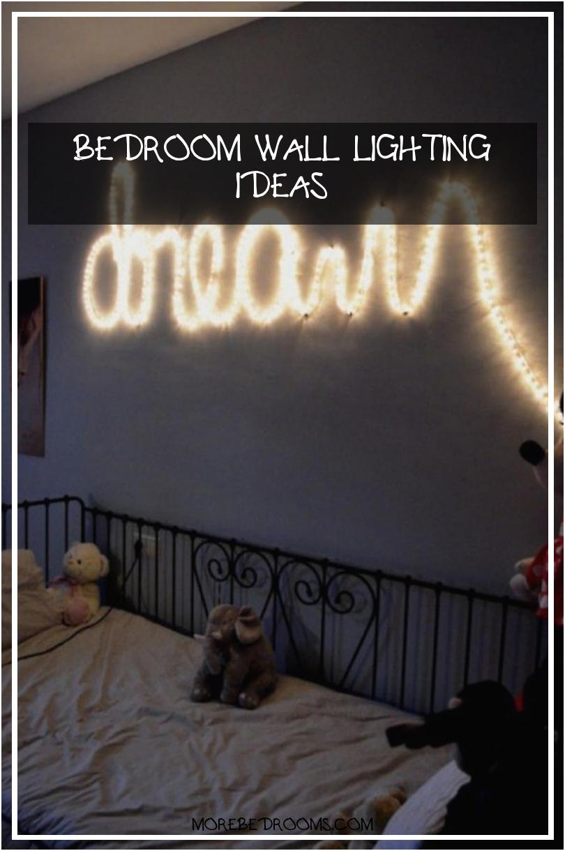 Bedroom Wall Lighting Ideas Gyghsk Inspirational 33 Best String Lights Decorating Ideas and Designs for 20208101220wsas