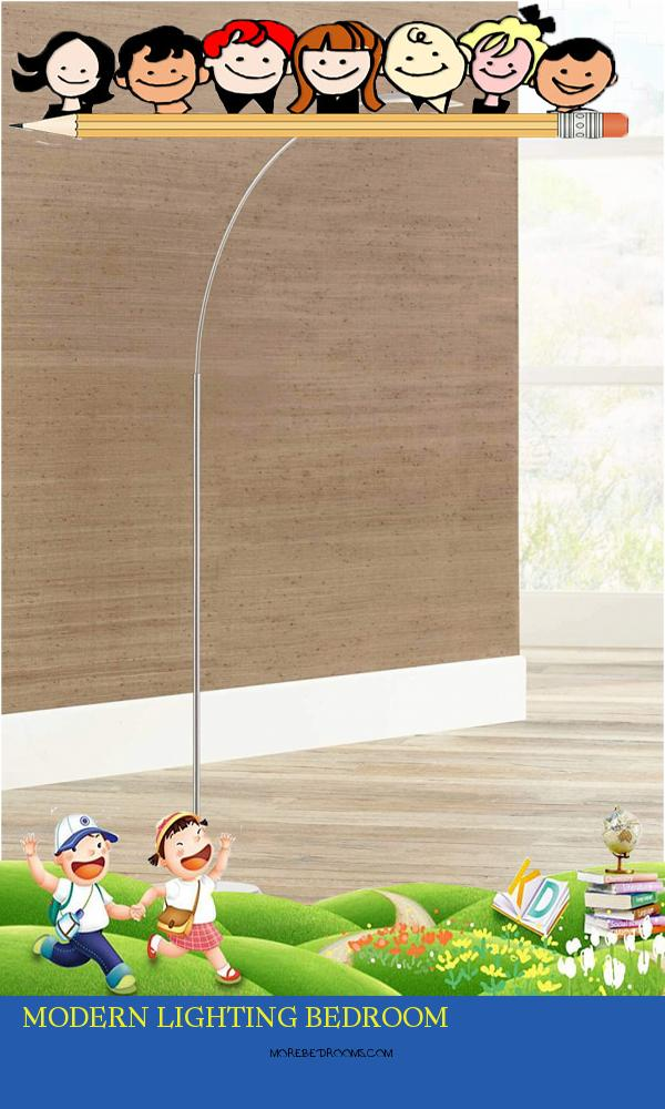 Modern Lighting Bedroom Ddkijf Fresh Salvo Modern Arc Floor Lamp Led Adjustable Satin Nickel Metal Glass Shade for Living Room Reading Bedroom Fice Possini Euro Design9461350acfg