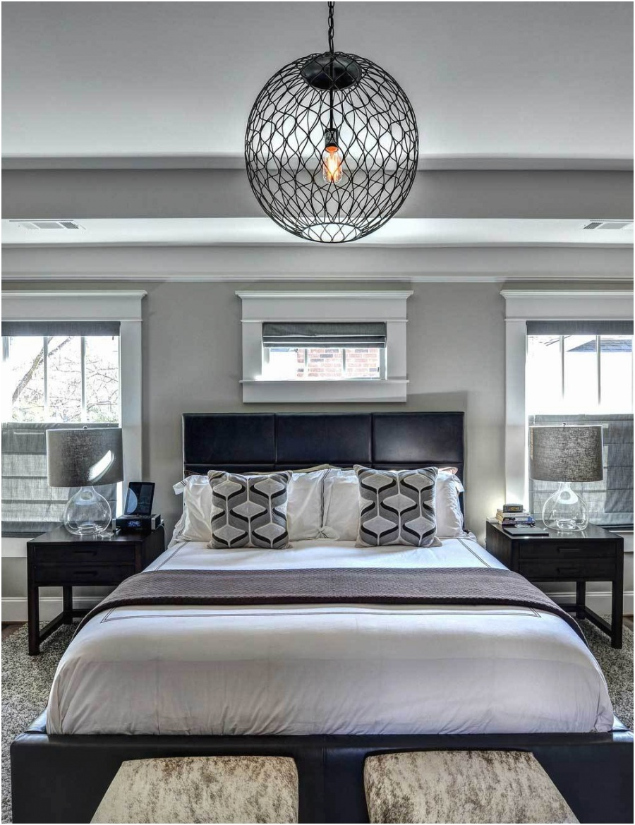 32 small bedroom with orb pendant lights