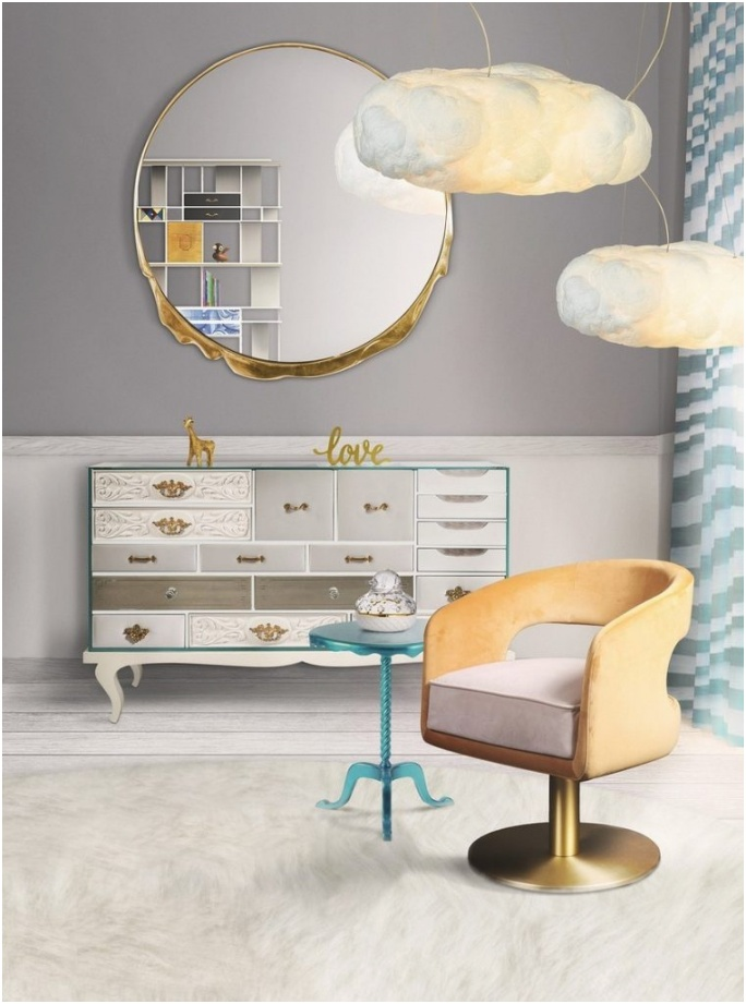 5 Incredibly Unique Wall Mirrors to Place in the Bedroom of Your Child 8