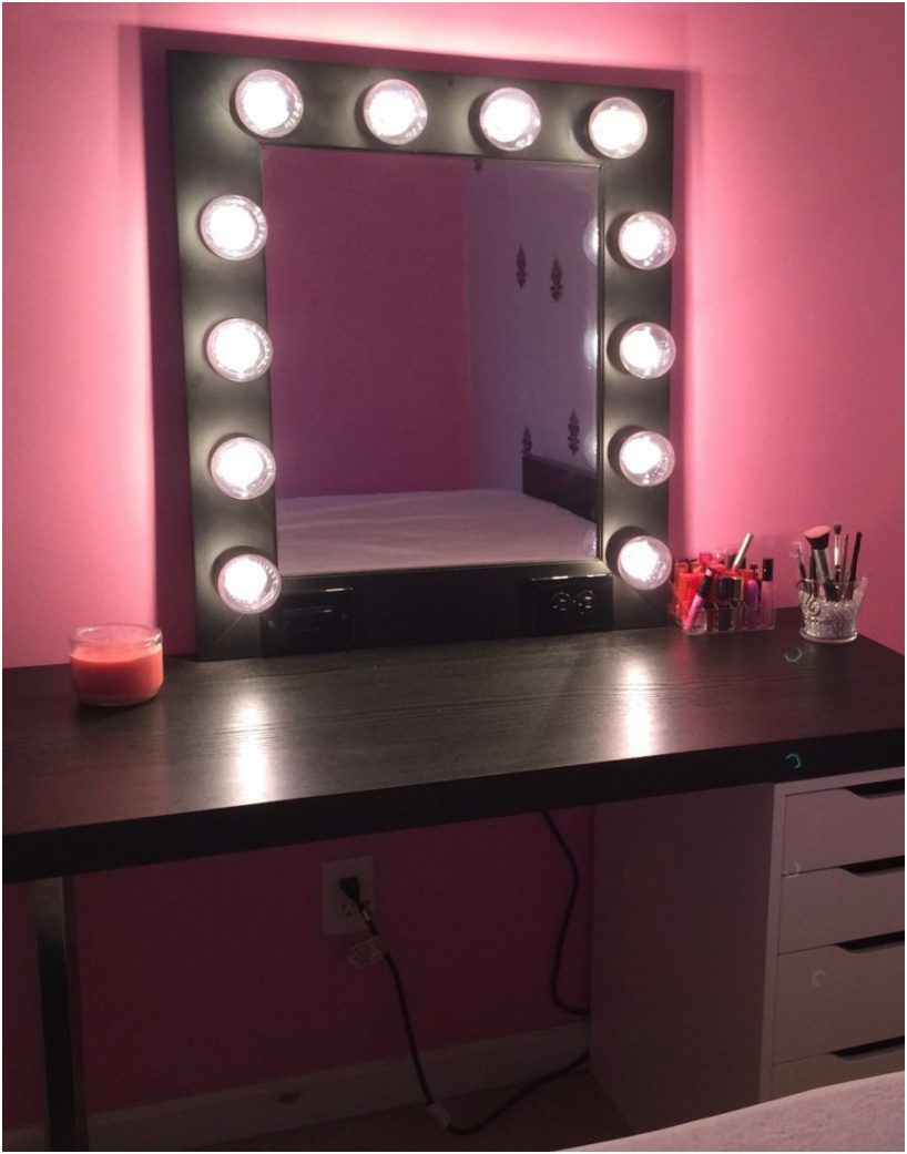 simple black wooden makeup vanity table with lights and white drawers for home furniture idea makeup vanity set with lights lighted makeup vanity makeup desks vanity desk ikea makeup mirrors with ligh