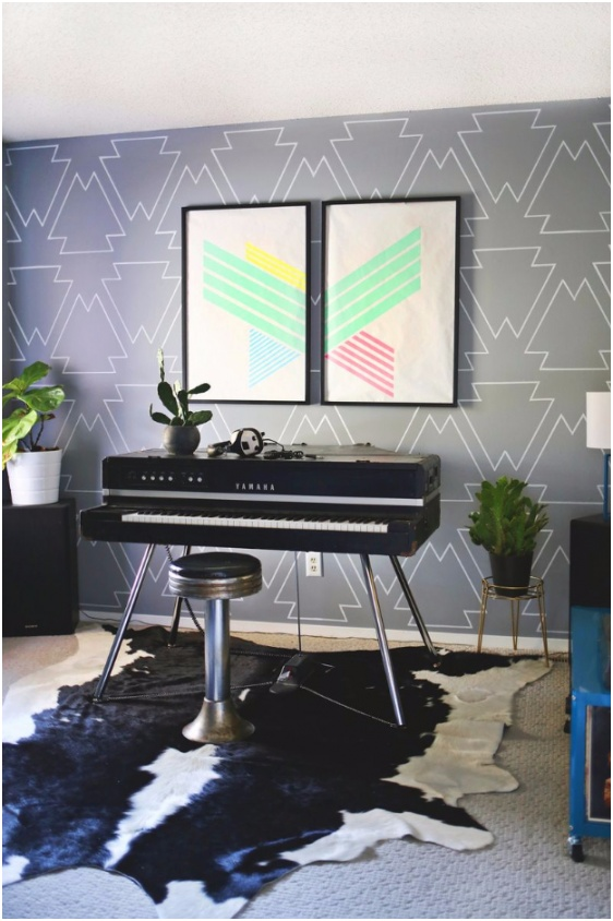 Statement Wall With Paint Pens