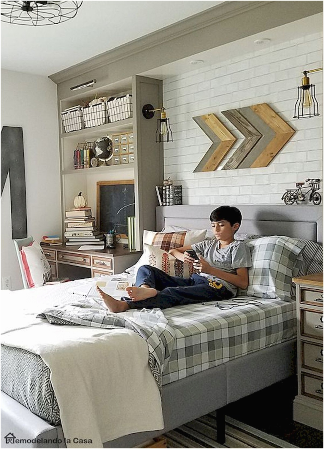 45 Cool Boys Bedroom Ideas to Try at Home 2