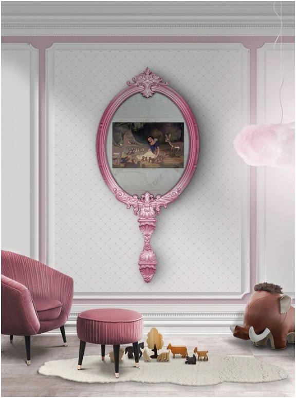 Kids Bedroom Decor Ideas 5 Stunning Wall Mirrors Youll Love 3