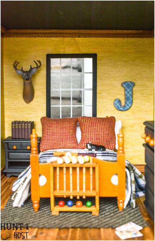 rustic boys bedroom ideas dollhouse decor 5