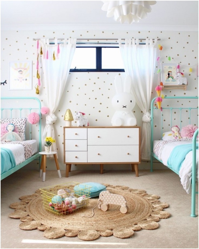 kids shared bedroom designs modest on within girls ideas 95 best images 17