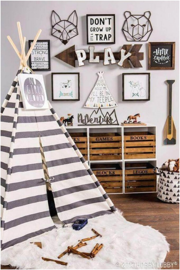 Boys Bedroom Ideas Go Camping