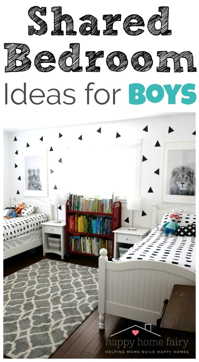 SHARED BEDROOM IDEAS FOR BOYS
