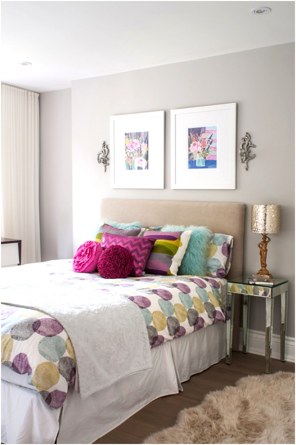 Bright teen vogue bedding in Kids Transitional with Bedroom Color Idea next to Kids Bedroom alongside Teenage Girl Room Colors andBenjamin Moore Gray Owl