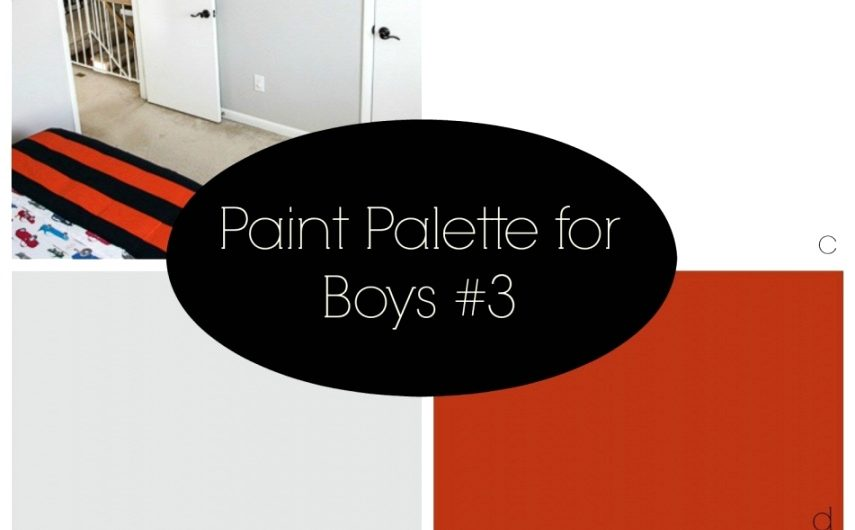 Boys Bedroom Paint Ideas