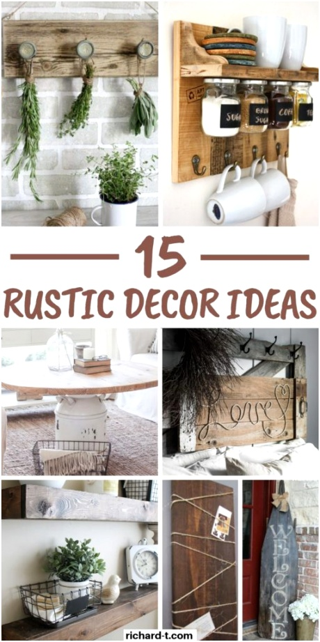Rustic Home Decor Ideas 512x1024