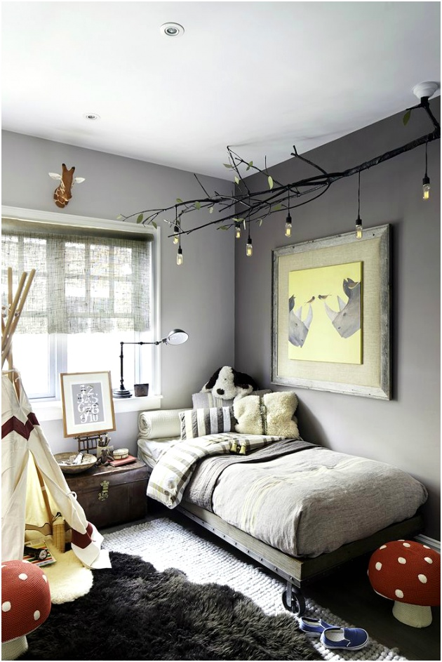 Gray Boys Room Ideas 14