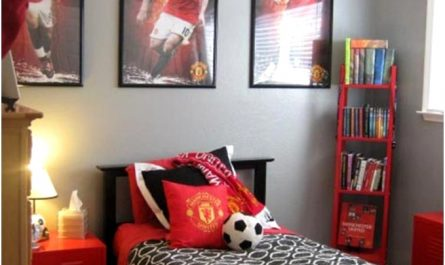 Boys Bedroom Ideas Sports Wybe4c Beautiful 15 Awesome Kids soccer Bedrooms679904vudo