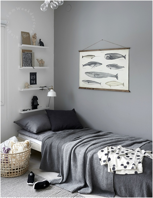 Gray Boys Room Ideas 27