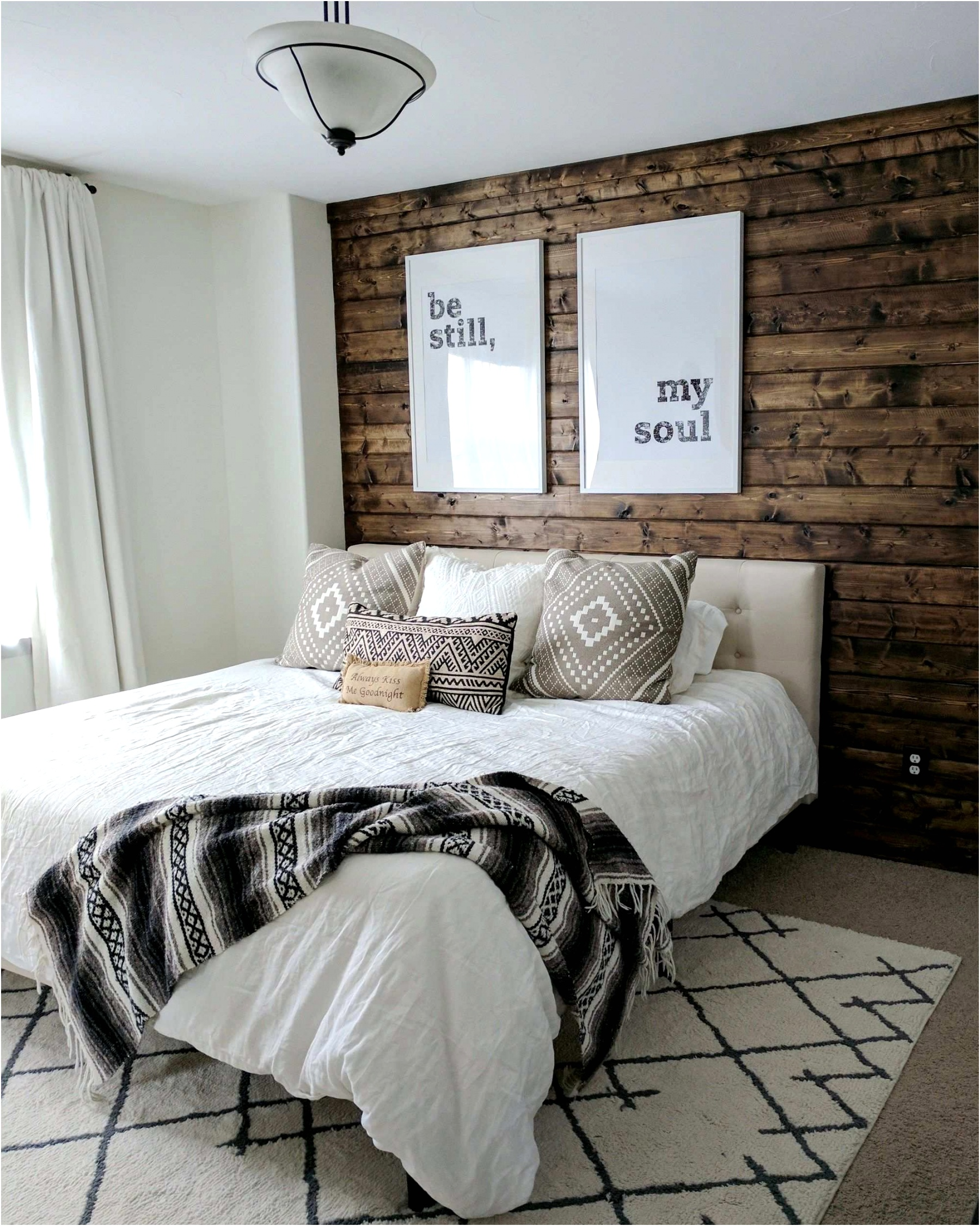 Remarkable Wall Paint Ideas Bedrooms Wood how to build a wood plank accent wall accent wall Wood Wall Paint Bedrooms Remarkable Ideas