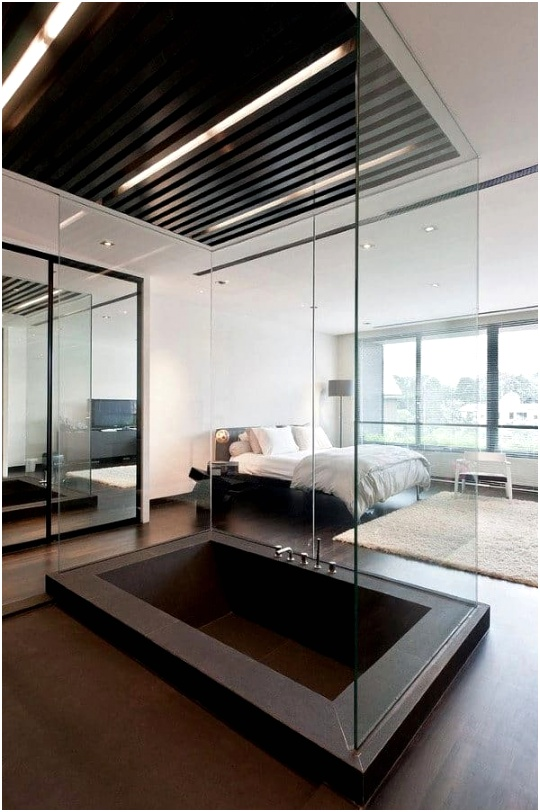 cool masculine bedroom interior design