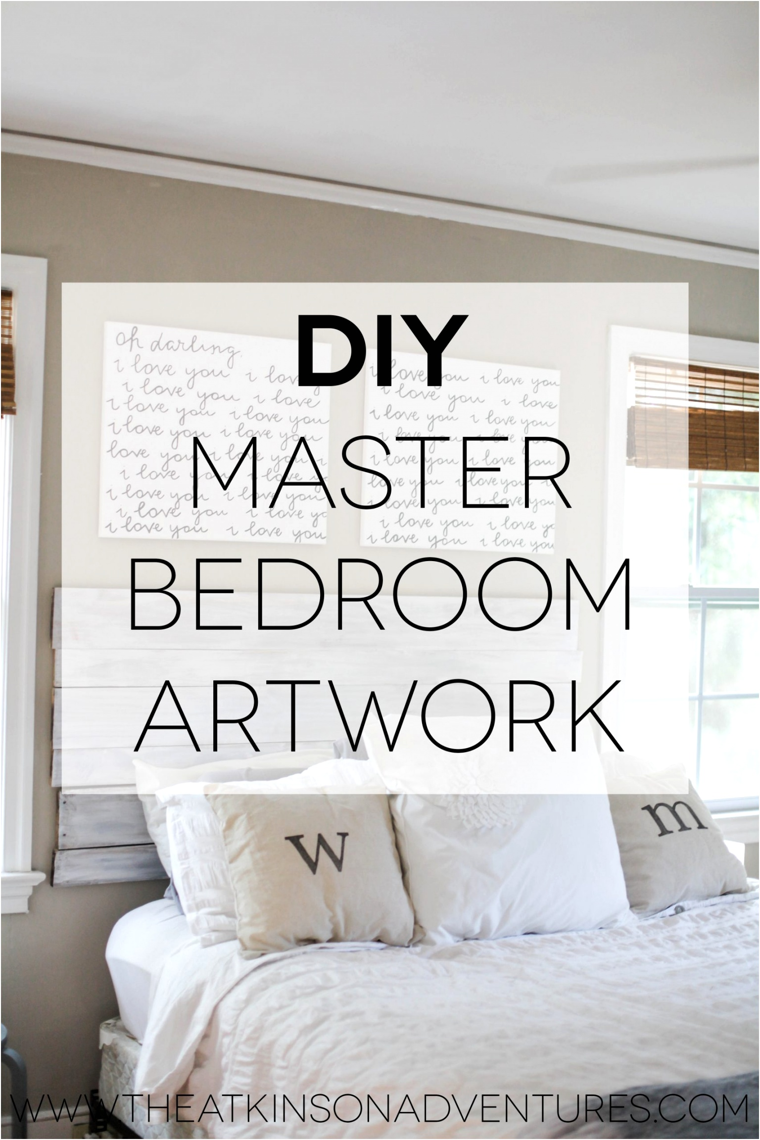 diy bedroom wall decorating ideas pinterest decor for girl easy painting scaled