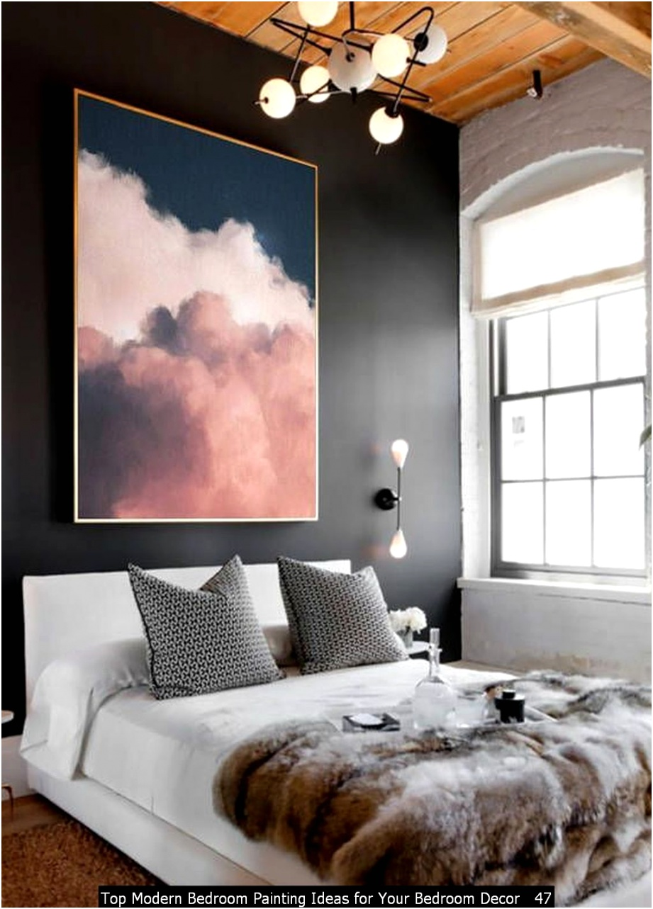 Top Modern Bedroom Painting Ideas for Your Bedroom Decor 47