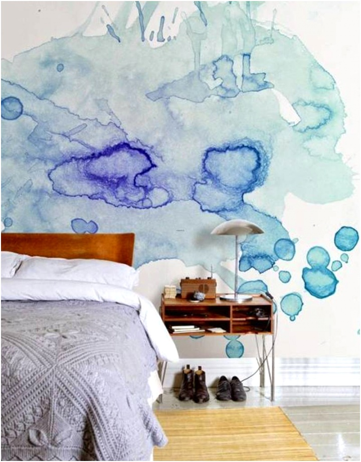 wall decoration designs with paint