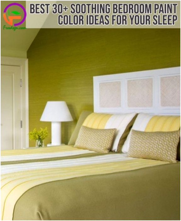best 30 soothing bedroom paint color ideas for your sleep