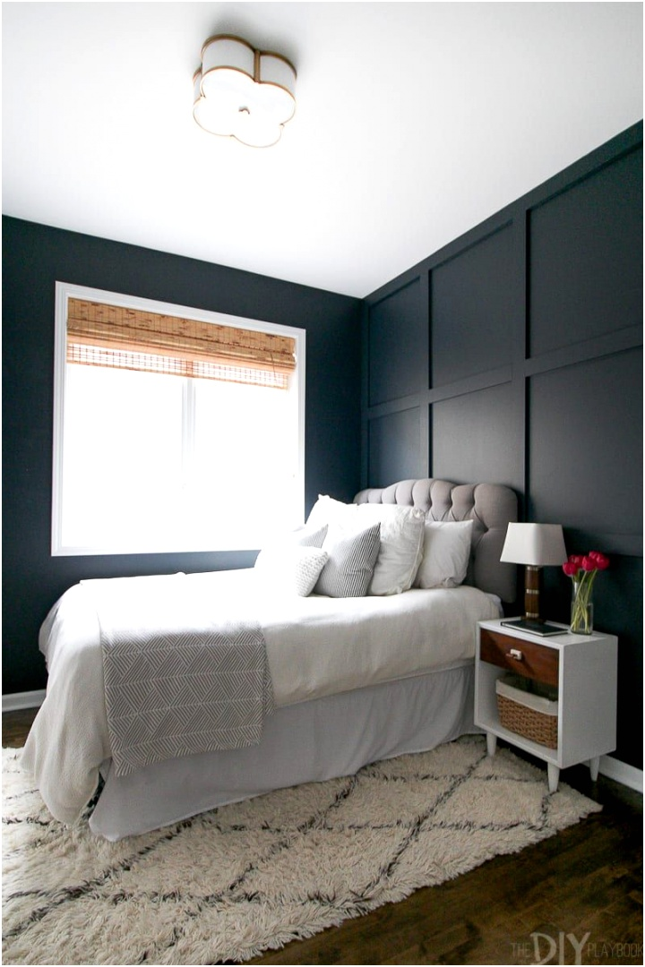 guest bedroom makeover wood wall c2ec739d3a b32a08f d73a