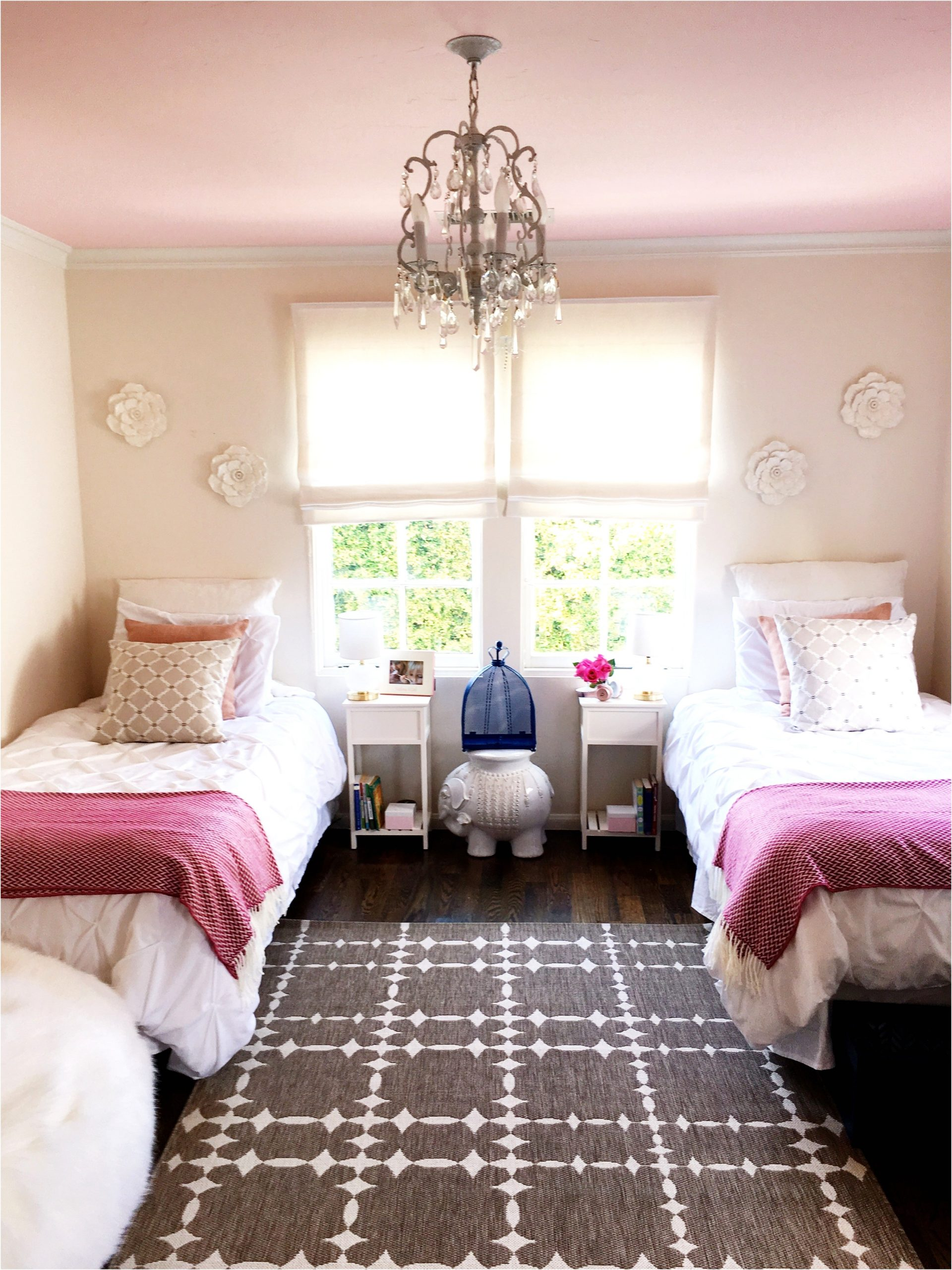 California girls room makeover easy paint ideas bedroom 18