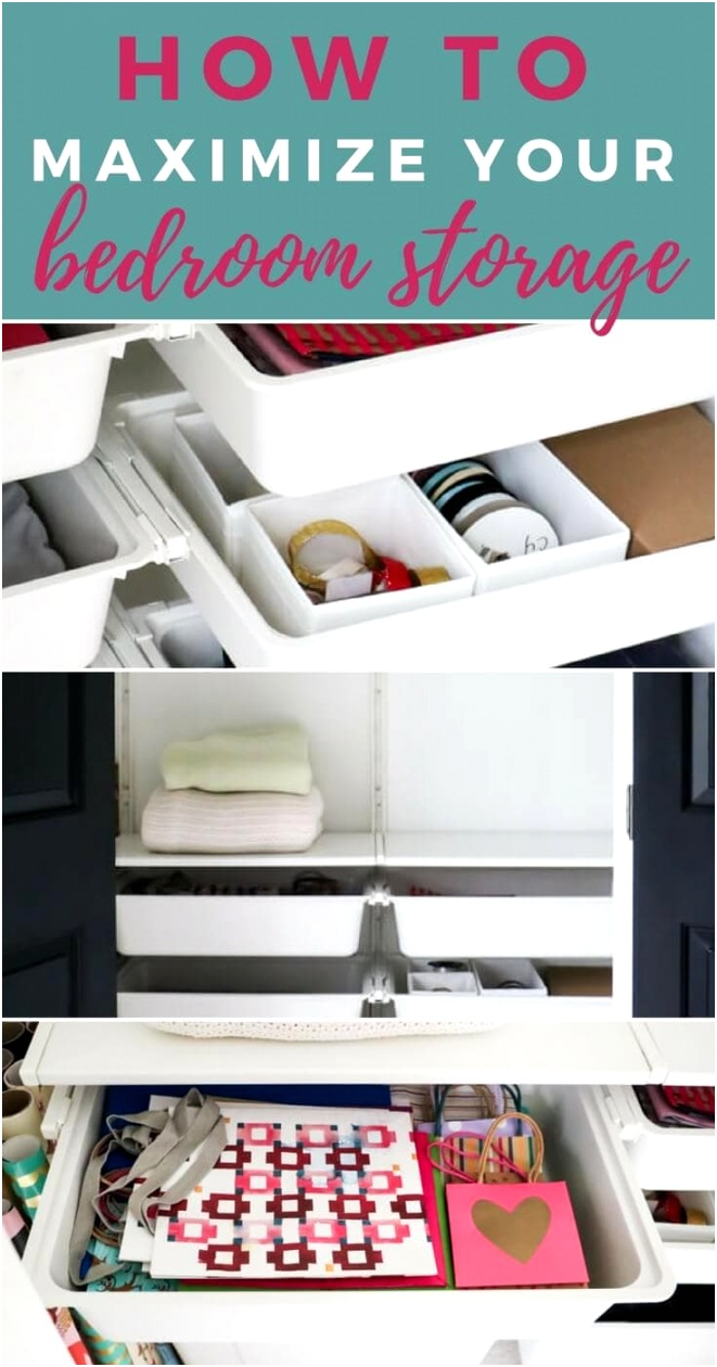 bedroom storage ideas Pinterest 1