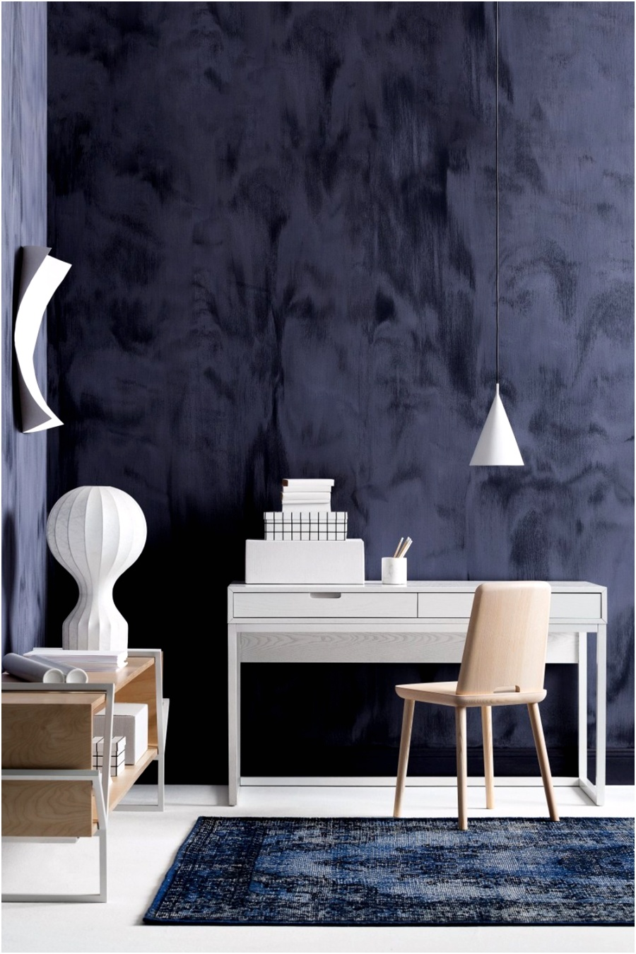 Haymes Paint Gravity blue paint in office 35 ideas for blue wall colour home decoration AlizsWonderland