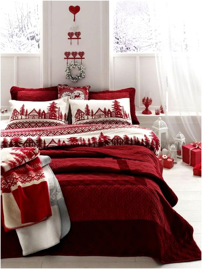 PSA These Are The Christmas Decorations Your Bedroom Needs 1