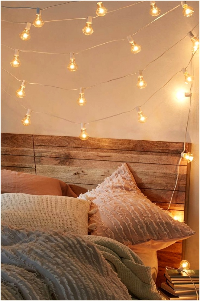 bedroom string lights decorative fabulous limited hanging lights for