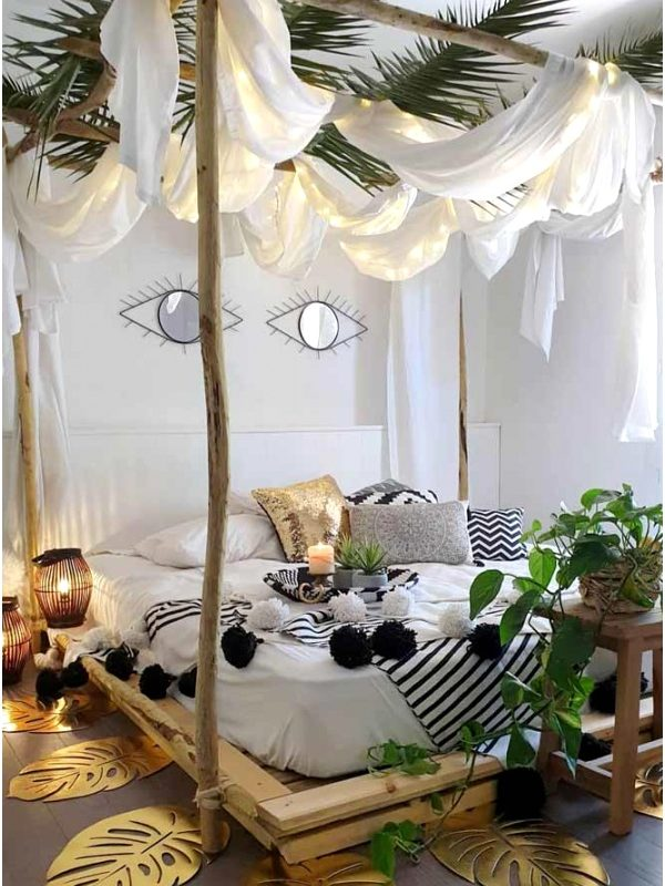 Decorative Bedroom Ideas Jpfsxf New 27 Cozy Decor Ideas with Bedroom String Lights600900tkwg