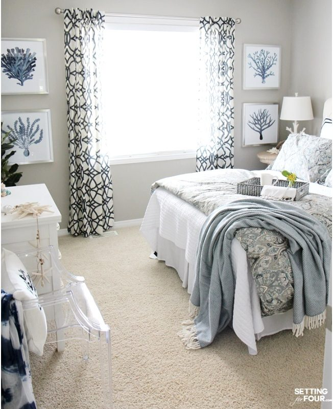 Guest Bedroom Decorating Ideas Njueke Luxury Guest Room Refresh Bedroom Decor Setting for Four652804hlkf