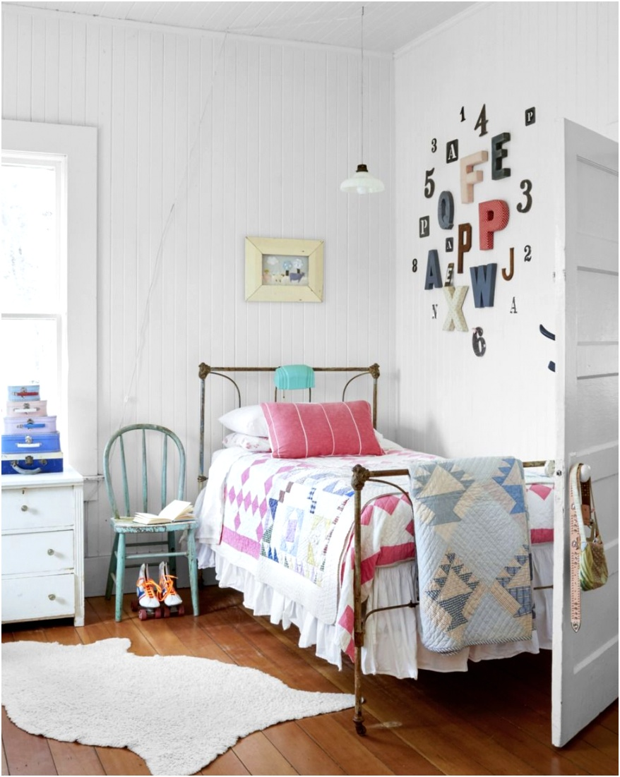 bedroom wall decor ideas letters numbers