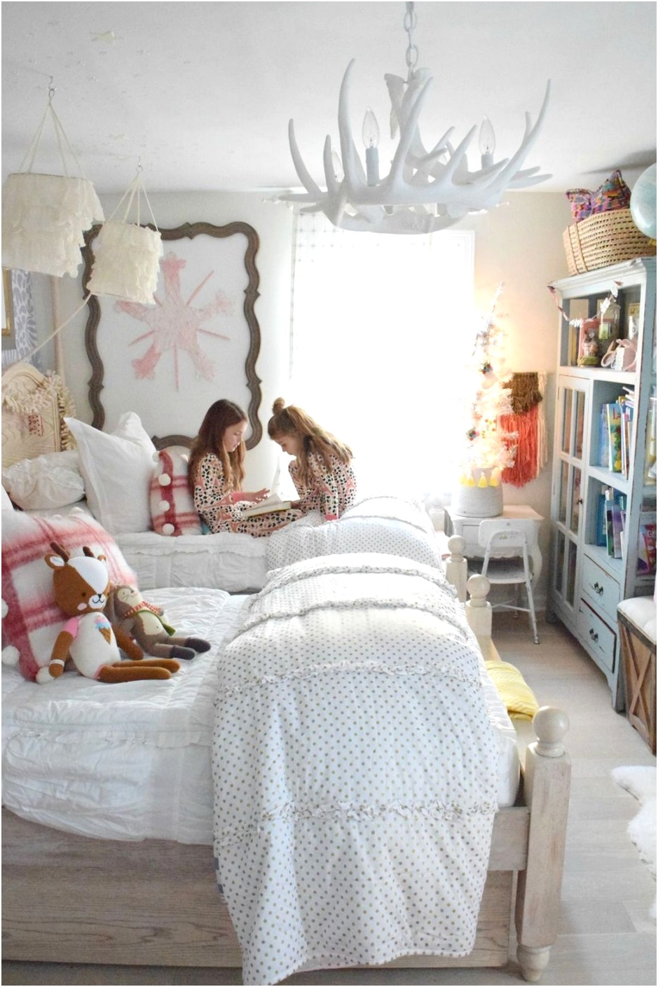 christmas decorations bedroom girly ideas 2