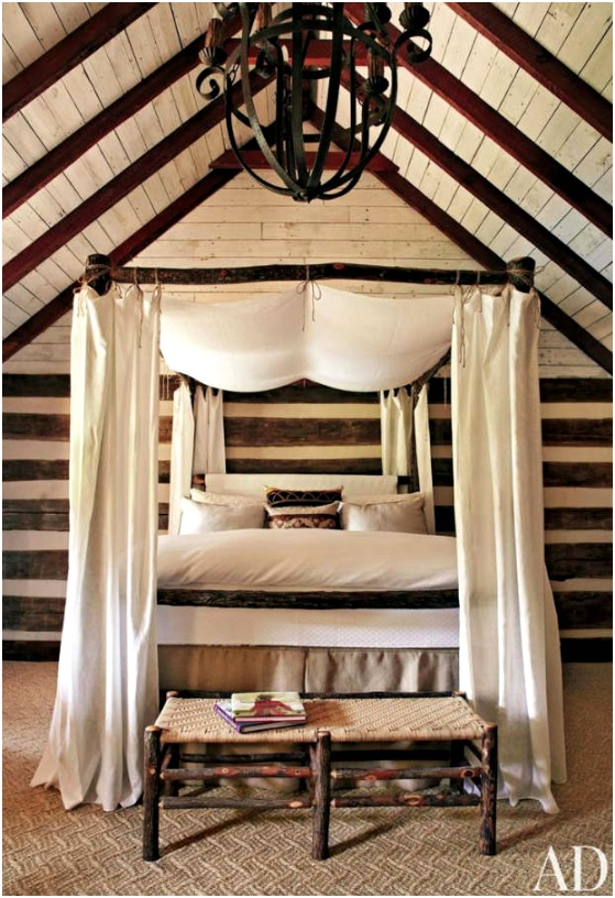 rustic bedroom decorating idea 20