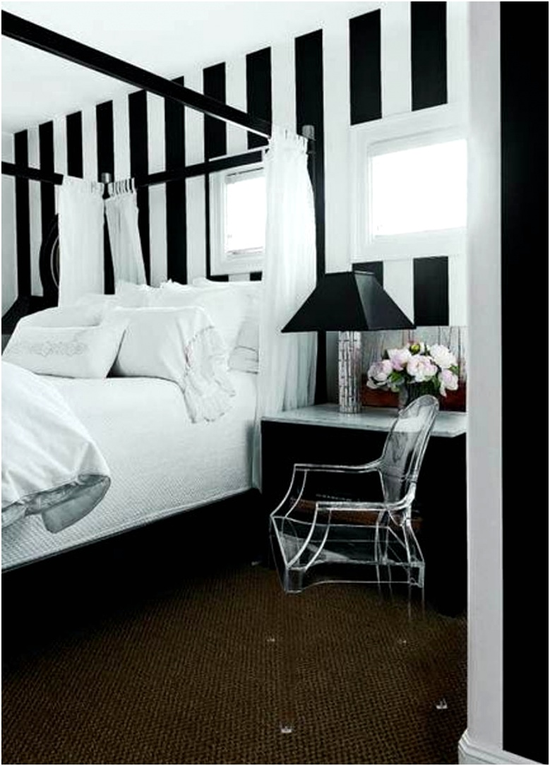Beautiful Decoration With Black and White Wall Bedroom Paint Color Ideas