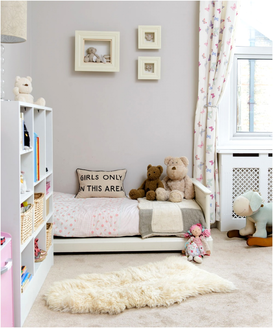 childrens room idea small bed