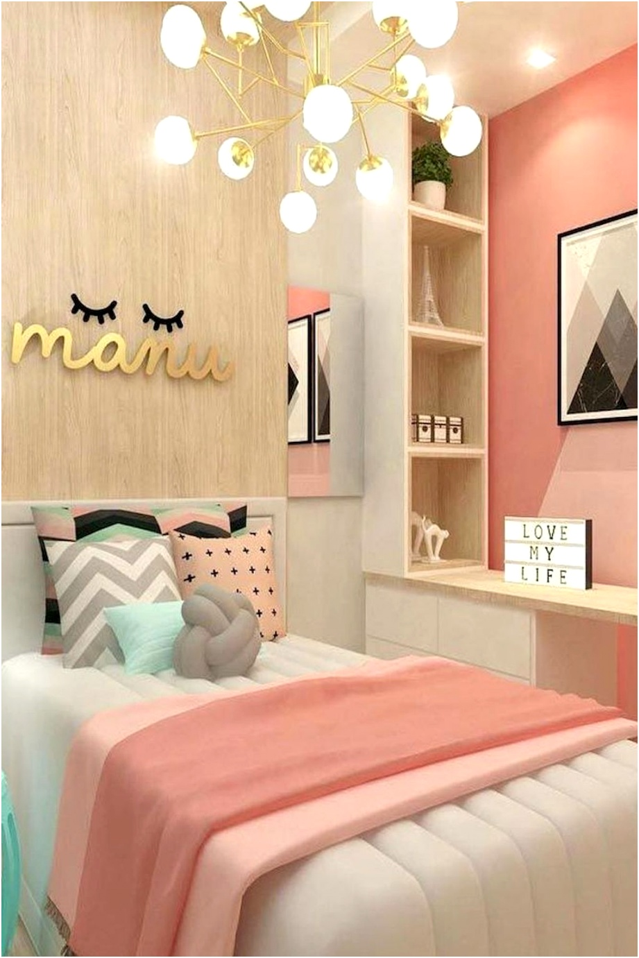Fabulous Small Bedroom Decor Ideas Which Is Quite Simple 21