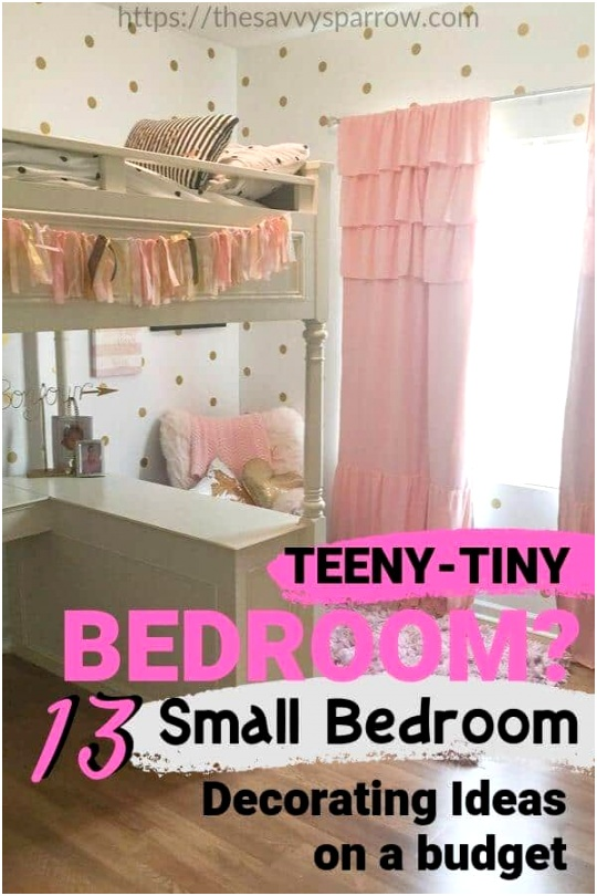 Small bedroom decorating ideas on a bud 13 Small bedroom tips 1 1