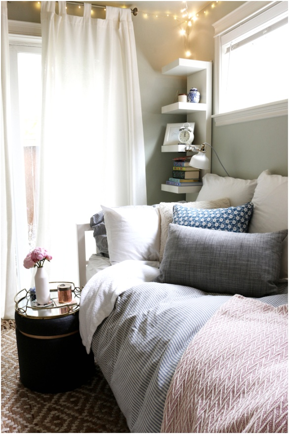 Small Bedroom with Daybed Courtney from The Inspired Room