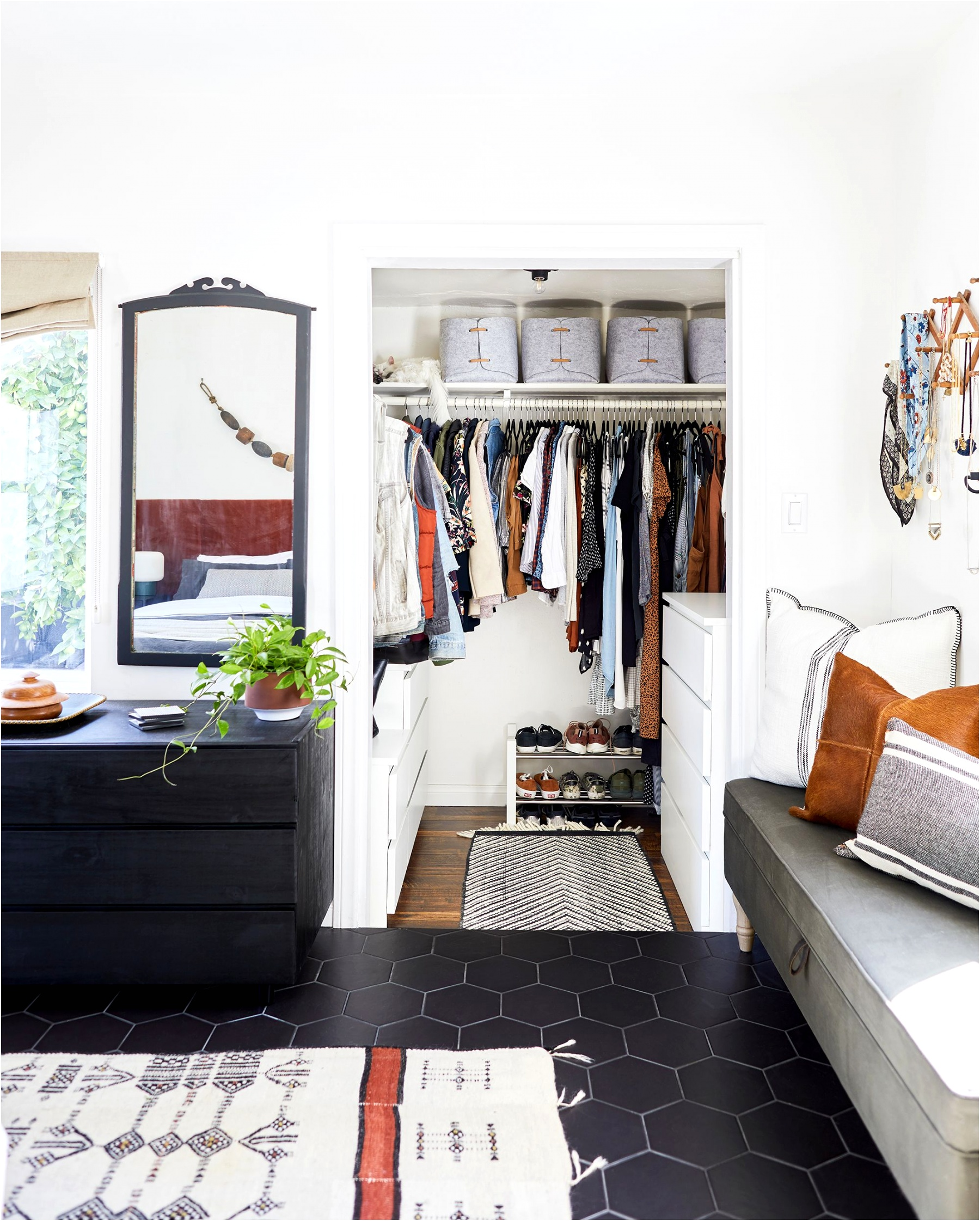 small closet tips design by emily bowser bedroom photo by sara ligorria tramp 5
