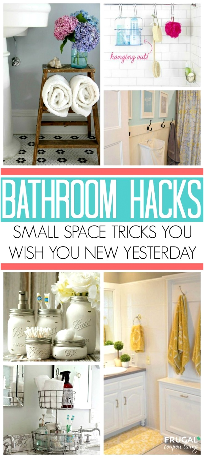 DIY Crafts Bathroom Storage Ideas for Small Spaces solutions for your everyday family Bat