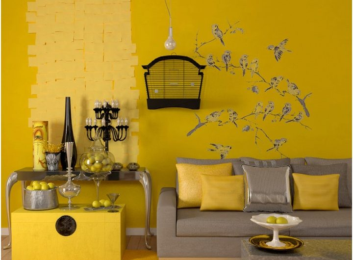 Yellow Bedroom Decorating Ideas