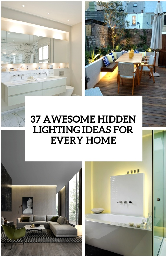 27 awesome hidden lighting ideas for every home cover