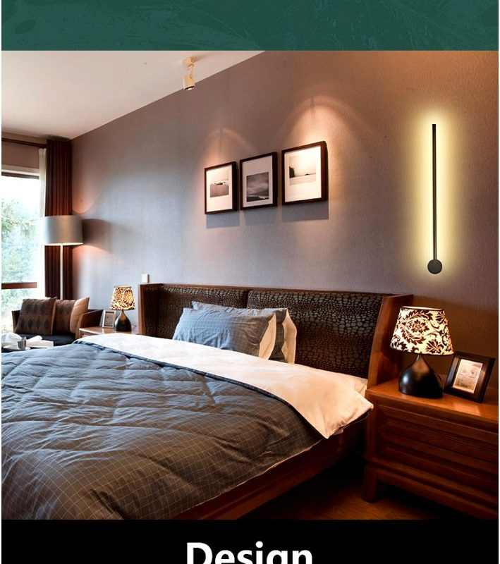 Wall Lighting for Bedrooms Hdbcgt Awesome Qukau Led 60cm Height Creative Lamp Wall Lamp Modern Wall7091180xhld