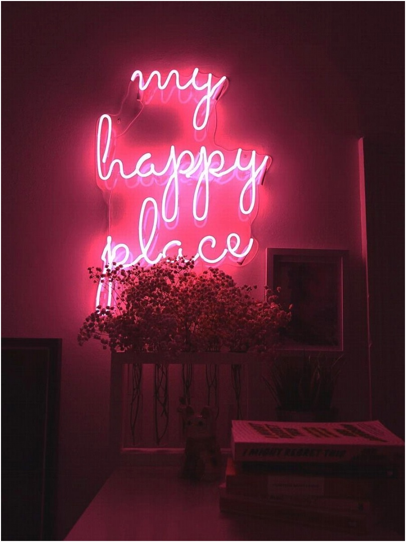 my happy place neon sign b203 1