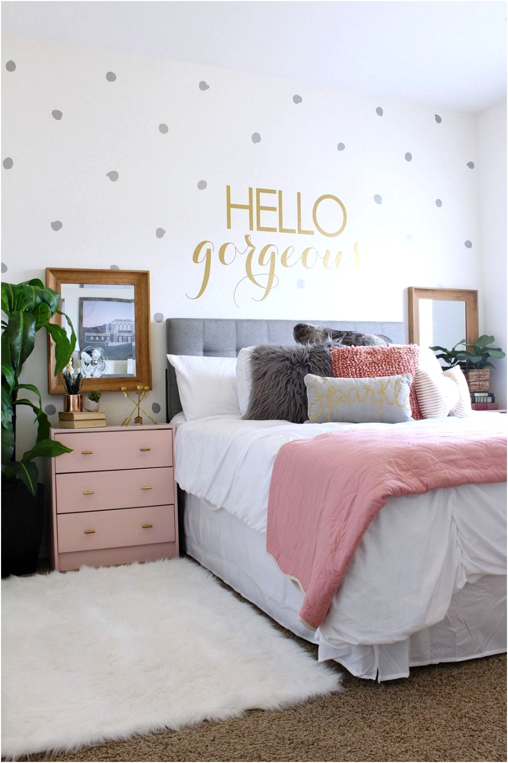 fascinating bedroom decorating ideas for teenage girl 26
