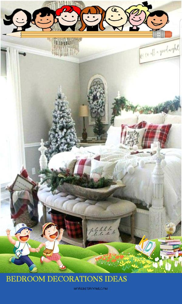 Bedroom Decorations Ideas Bgftdl New Holiday Master Bedroom Decor575704ohdv