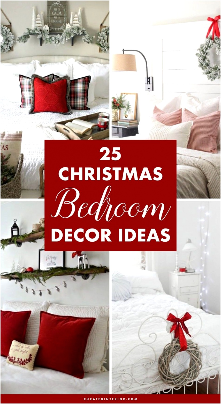 25 BEST Christmas Bedroom Decor Ideas