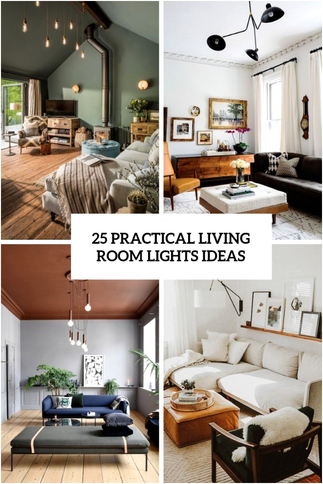 25 practical living room lights ideas cover